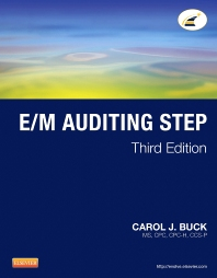 E/M Auditing Step - 3rd Edition - ISBN: 9781455751990, 9781455754274