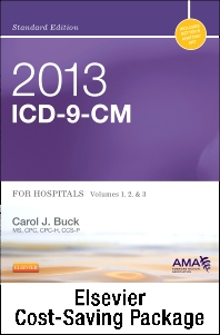 2013 ICD-9-CM for Hospitals, Volumes 1, 2 & 3 Standard Edition with 2013 HCPCS Level II Standard and CPT 2013 Standard Edition Package