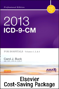 2013 ICD-9-CM for Hospitals, Volumes 1, 2, and 3 Professional Edition (Spiral bound), 2013 HCPCS Level II Professional Edition and 2013 CPT Professional Edition Package
