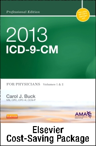 2013 ICD-9-CM, for Physicians, Volumes 1 and 2 Professional Edition (Spiral bound) with 2013 HCPCS Level II Professional Edition and 2013 CPT Professional Edition Package
