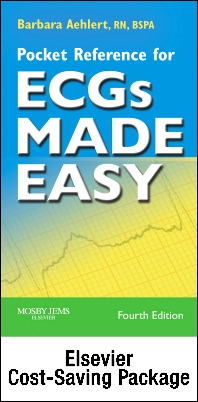 Cover image for Online ECG Companion for ECGs Made Easy Textbook and Pocket Reference (Access Code, Textbook, and Pocket Reference Package)
