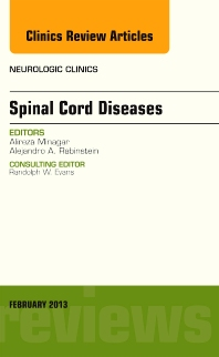 Cover image for Spinal Cord Diseases, An Issue of Neurologic Clinics