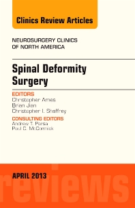 Cover image for Spinal Deformity Surgery, An Issue of Neurosurgery Clinics
