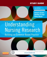 Cover image for Study Guide for Understanding Nursing Research