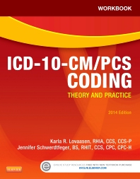 Cover image for Workbook for ICD-10-CM/PCS Coding: Theory and Practice, 2014 Edition