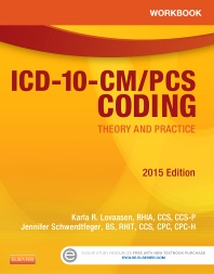 Cover image for Workbook for ICD-10-CM/PCS Coding: Theory and Practice, 2015 Edition