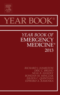 Cover image for Year Book of Emergency Medicine 2013