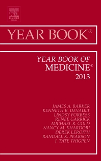 Cover image for Year Book of Medicine 2013