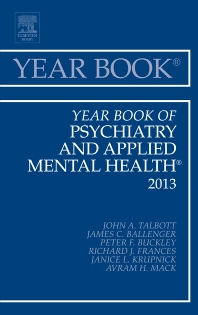 Cover image for Year Book of Psychiatry and Applied Mental Health 2013