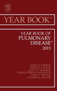 Cover image for Year Book of Pulmonary Diseases 2013
