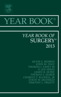 Cover image for Year Book of Surgery 2013