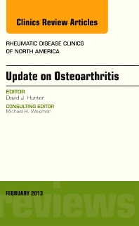 Cover image for Update on Osteoarthritis, An Issue of Rheumatic Disease Clinics