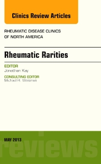 Cover image for Rhuematic Rarities, An Issue of Rheumatic Disease Clinics