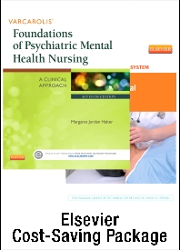 Varcarolis' Foundations of Psychiatric Mental Health Nursing - Text and SImulation Learning System Package - 7th Edition - ISBN: 9781455774258