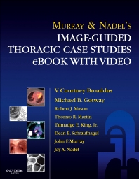 Cover image for Murray & Nadel's Image-Guided Thoracic Case Studies - E-Book with Video