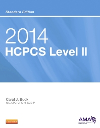 2014 HCPCS Level II Standard Edition - 1st Edition - ISBN: 9781455775057, 9780323315920