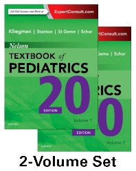 Cover image for Nelson Textbook of Pediatrics, 2-Volume Set