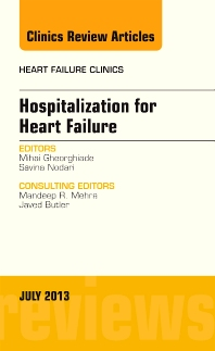 Cover image for Hospitalization for Heart Failure, An Issue of Heart Failure Clinics
