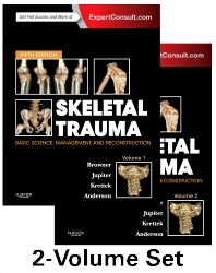 Skeletal Trauma: Basic Science, Management, and Reconstruction, 2-Volume Set, 5th Edition,Bruce Browner,Jesse Jupiter,Christian Krettek,Paul Anderson,ISBN9781455776283