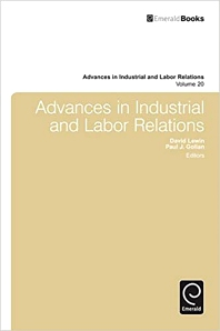 Cover image for Advances in Industrial and Labor Relations