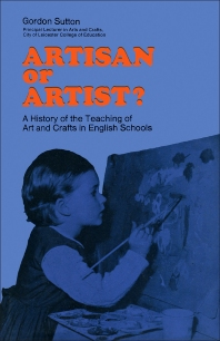 Artisan or Artist? - 1st Edition - ISBN: 9781483166605, 9781483194080