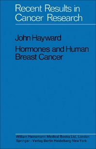 Hormones and Human Breast Cancer - 1st Edition - ISBN: 9781483166698, 9781483194172