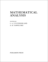 Mathematical Analysis - 1st Edition - ISBN: 9781483166889, 9781483194363
