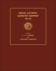 Medical Electronic Laboratory Equipment 1967-68 - 1st Edition - ISBN: 9781483167343, 9781483194820