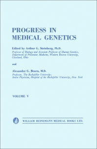 Progress in Medical Genetics - 1st Edition - ISBN: 9781483167572, 9781483195056