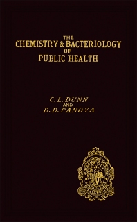 The Chemistry and Bacteriology of Public Health - 1st Edition - ISBN: 9781483168050, 9781483195537