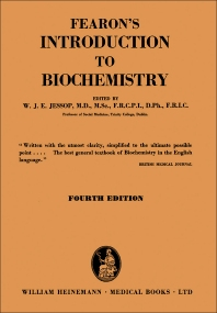 Fearon's Introduction to Biochemistry - 4th Edition - ISBN: 9781483168081, 9781483195568