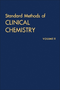 Cover image for Standard Methods of Clinical Chemistry
