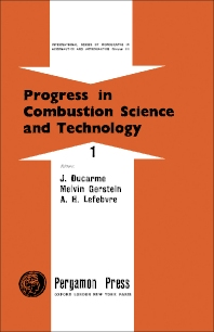 Cover image for Progress in Combustion Science and Technology
