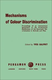 Cover image for Mechanisms of Colour Discrimination