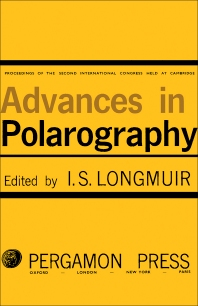 Cover image for Advances in Polarography