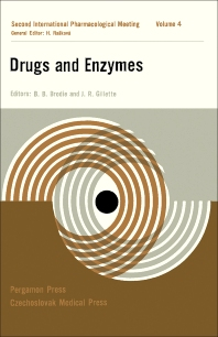 Drugs and Enzymes - 1st Edition - ISBN: 9781483198484, 9781483223513