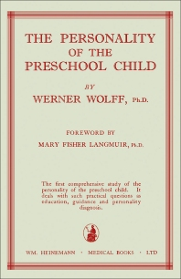 The Personality of the Preschool Child - 1st Edition - ISBN: 9781483198811, 9781483223841