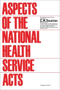 Aspects of the National Health Service Acts - 1st Edition - ISBN: 9781483198989, 9781483224015