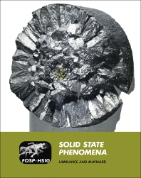 Solid State Phenomena - 1st Edition - ISBN: 9781483200897, 9781483225920