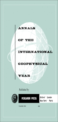 Tables of IGY Monthly Median Ionospheric Data - 1st Edition - ISBN: 9781483212944, 9781483226378