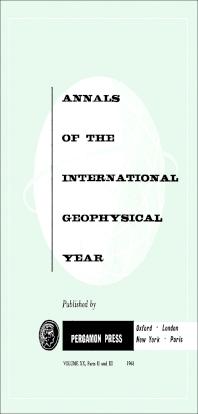 I.G.Y. Ascaplots - 1st Edition - ISBN: 9781483212975, 9781483226408