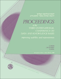 Proceedings of the Third International Conference on Data and Knowledge Bases - 1st Edition - ISBN: 9781483213132, 9781483226569