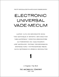 Cover image for Electronic Universal Vade-Mecum