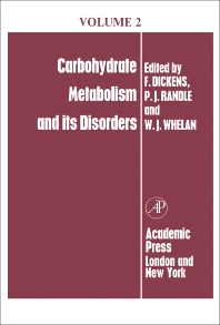 Carbohydrate Metabolism - 1st Edition - ISBN: 9781483227542, 9781483264271