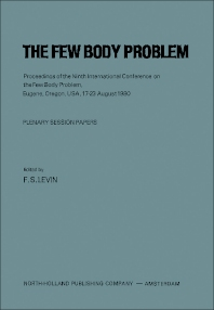 The Few Body Problem - 1st Edition - ISBN: 9781483228969, 9781483257099