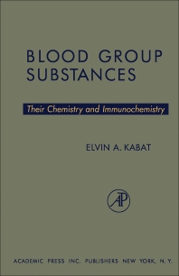 Cover image for Blood Group Substances