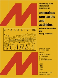 Anomalous Rare Earths and Actinides - 1st Edition - ISBN: 9781483229485, 9781483257235