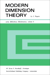 Modern Dimension Theory - 1st Edition - ISBN: 9781483229614, 9781483275024