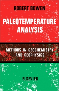 Paleotemperature Analysis - 1st Edition - ISBN: 9781483230313, 9781483275062