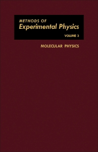 Molecular Physics - 1st Edition - ISBN: 9781483230368, 9781483281414